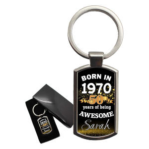 Awesome Keyring with Gift Box