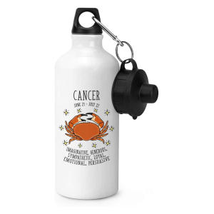 Cancer Horoscope Sports Bottle
