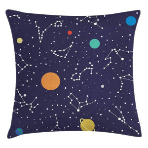 Constellation Pillow Cushion Cover