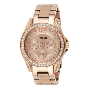 Fossil Rose Goldtone Watch
