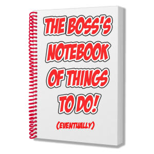 Funny Boss Notebook