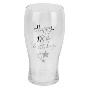 Happy 18th Birthday Pint Glass