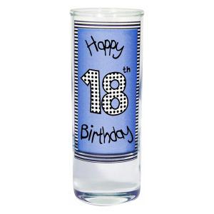 Happy 18th Birthday Shot Glass