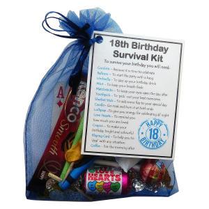 Happy 18th Birthday Survival Kit