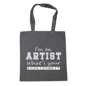 I'm an Artist Tote Shopping Bag