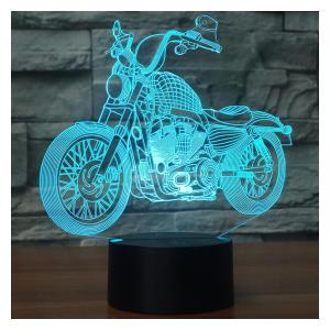 Motorcycle Model Night Light