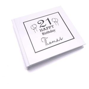 Personalised 21st Birthday Photo Album