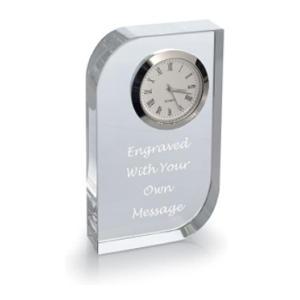 Personalised Glass Clock