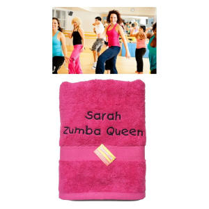 Personalised Zumba Towel