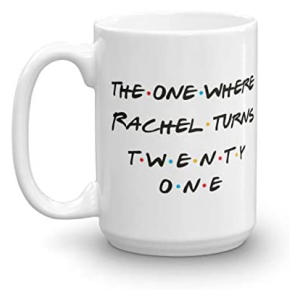 Personalized 21st Birthday Mug