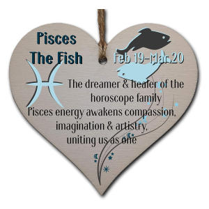 Pisces Astrological Star Sign Heart