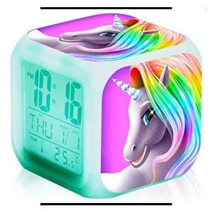Unicorn Digital Alarm Clock