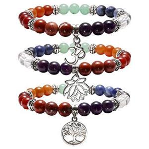 7 Chakras Yoga Meditation Bracelet
