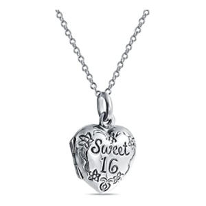 SWEET 16 Birthday Locket Necklace