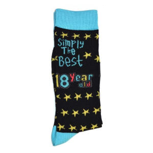 Simply The Best 18 Year Old Socks