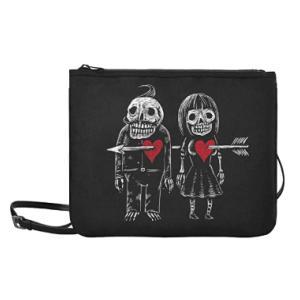 Skeleton Man Woman Bag