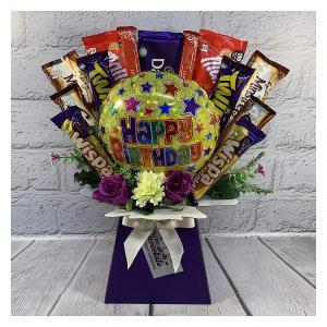 The 'Happy Birthday' Chocolate Bouquet