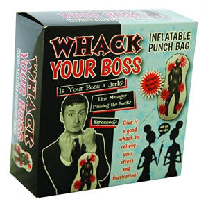 Whack Your Boss Inflatable Punch Bag