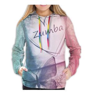 Womens 3D Hoodie Zumba