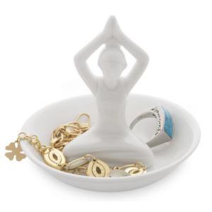 Yoga Ceramic Ring Holder