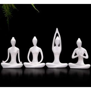 Meditation Yoga Pose Statue