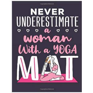 Novelty Yoga Notebook