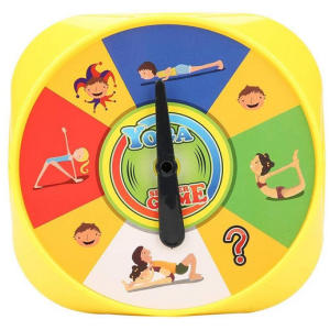 Yoga Pose Kids Cards Interactive Game