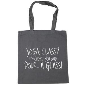 Novelty Yoga Shopping Bag