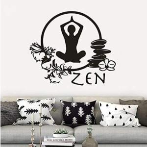Zen Yoga Vinyl Wall Sticker