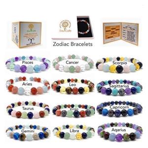 Zodiac Crystal Bracelets
