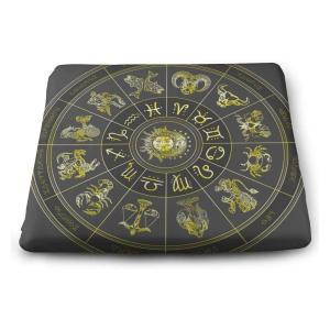 Zodiac Symbol Chair Pad