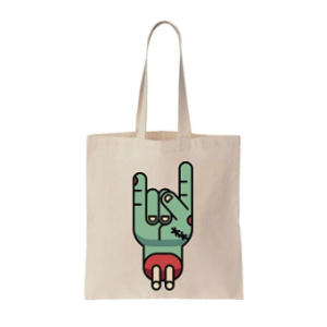 Zombie Hand Shopping Bag