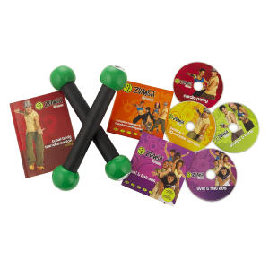 Zumba Fitness DVD With Toning Sticks