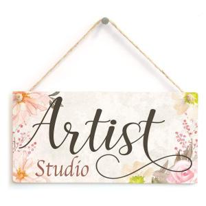 Beautiful Handmade Art Studio Door Gift Sign