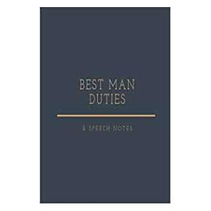 Best Man Duties & Speech Notes