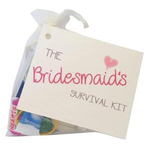 Bridesmaid Novelty Survival Kit