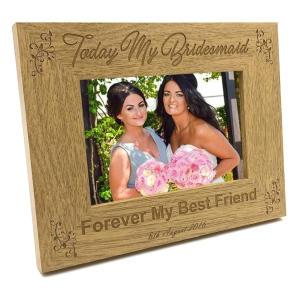 Bridesmaid Wooden Photo Frame