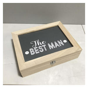 Cinnamon Bay Best Man Wooden Gift Box