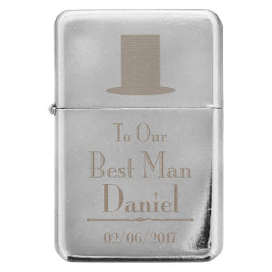 Decorative Wedding Best Man Lighter Gift