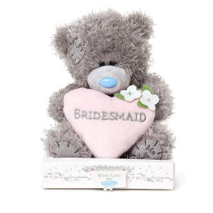 Love Heart Tatty Teddy Bear