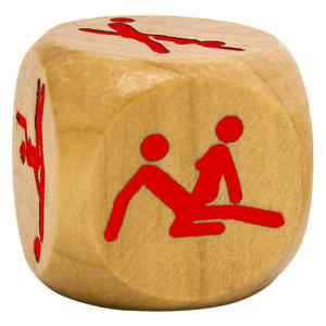 Novelty Wooden Kamasutra Dice