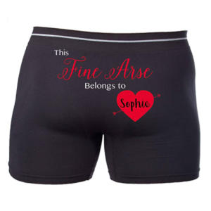Personalised Men's Boxers