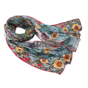 Scarf Silk Shawl Gustav Klimt