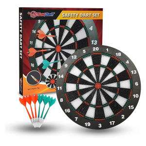 Soft Tip Safety Dart Board