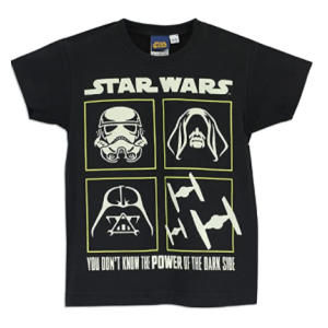 Star Wars Boys Glow in The Dark T-Shirt