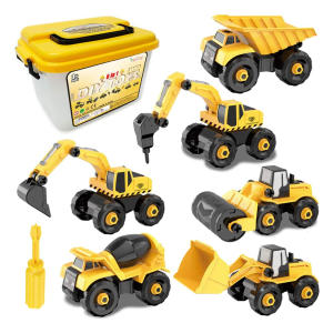 Take-Apart Construction Vehicles