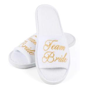 Team Bride Spa Slippers