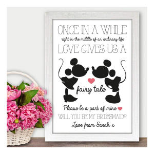 Will You Be My Maid of Honour Prints
