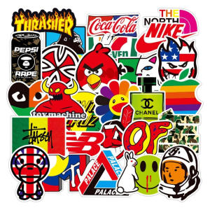 101 Skateboard Stickers