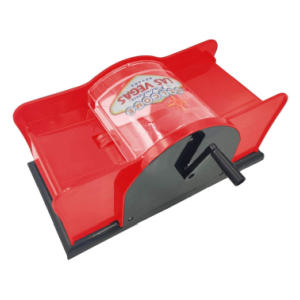 2 Deck Hand Cranked Card Shuffler
